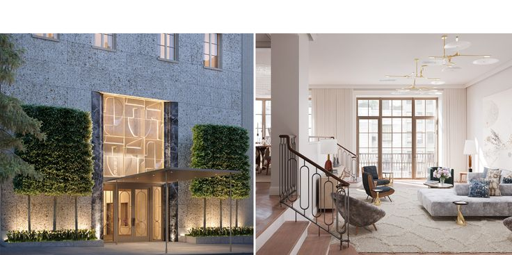 109 East 79th Street renderings credit of Noe & Associates with The Boundary