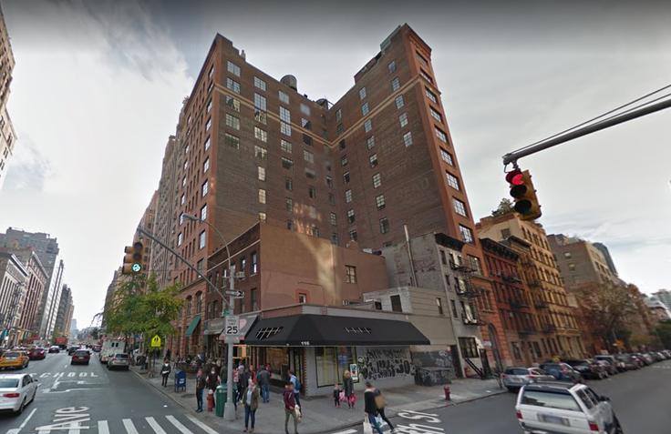206 West 17th Street. Credit: Google