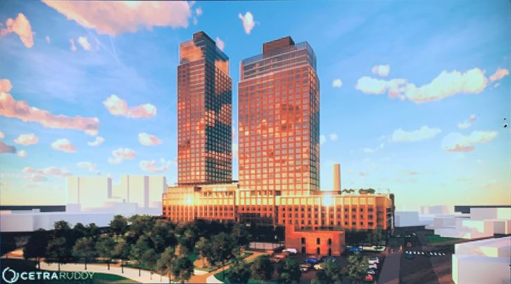 Rendering of Waterview at Greenpoint via CetraRuddy
