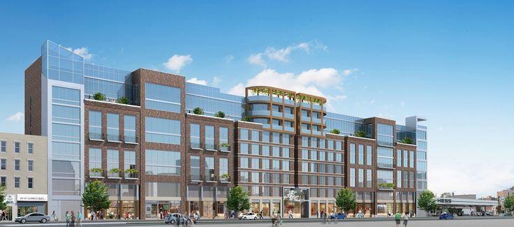 Rendering of 211 McGuinness Boulevard (Gene Kaufman Architect)