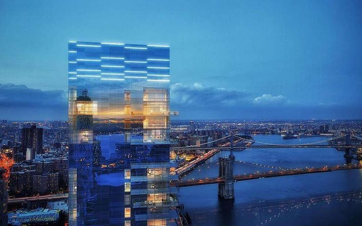 1 Seaport will ultimately top out at 670 feet, offering unparalleled views of the East River and city upon completion.