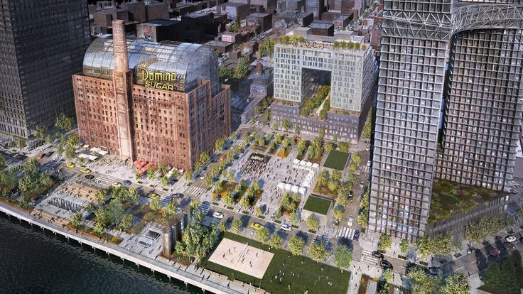 325 Kent Avenue is the first building in Two Trees' sweeping Domino Sugar redevelopment (Two Trees)