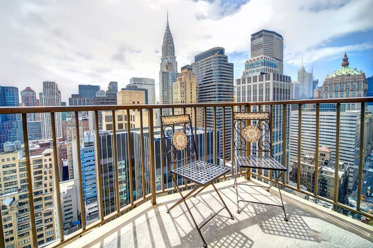 View from the penthouse of L'Ecole at 212 East 47th Street  (Halstead)