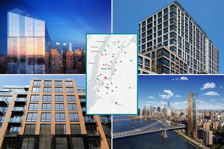 Manhattan topped the list, but most of the buildings came from Brooklyn and Queens.