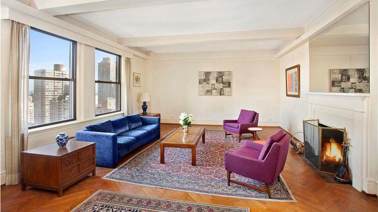 Living Room, 1185 Park Avenue, Condo, Manhattan, NYC