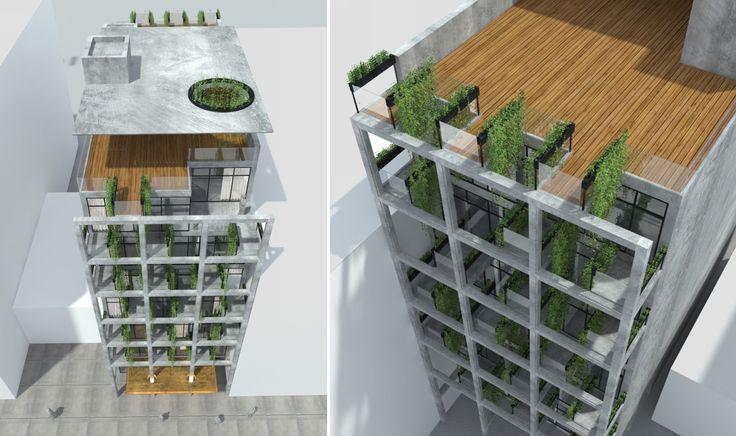 30-38 29th Street (Renderings via Madsen Engineering by Bluarch Architecture)
