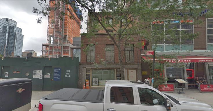 Google Earth image of 227 Duffield Street