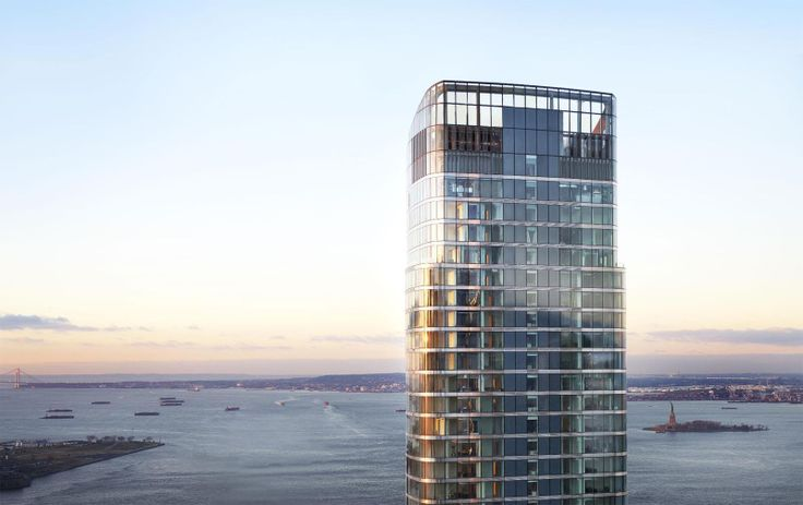The soaring tower at 50 West Street has 14 available listings from $2.43M