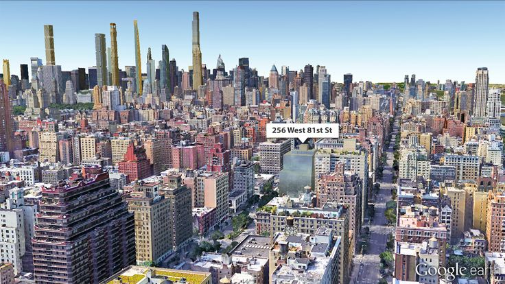 Google Earth View of Proposed Project