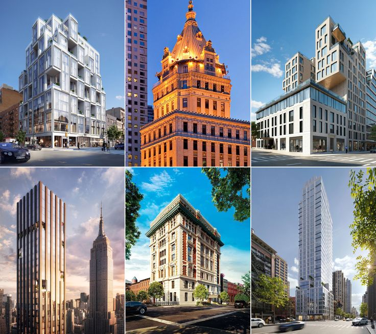 A selection of new development condos throughout New York City