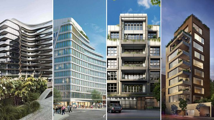Rundown of the best new NYC developments along or by a park