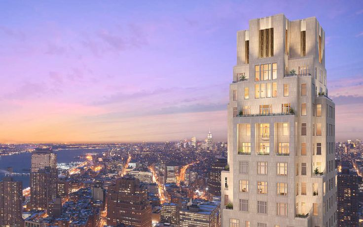 New York City's second Four Seasons Hotel stands inside 30 Park Place in Tribeca.