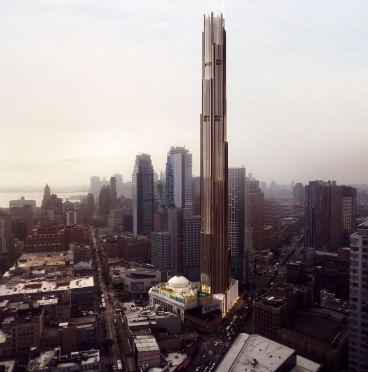 Rendering courtesy of SHoP Architects/JDS Development