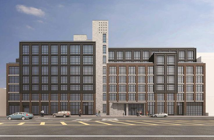 Rendering of 21-21 44th Drive via Hill West