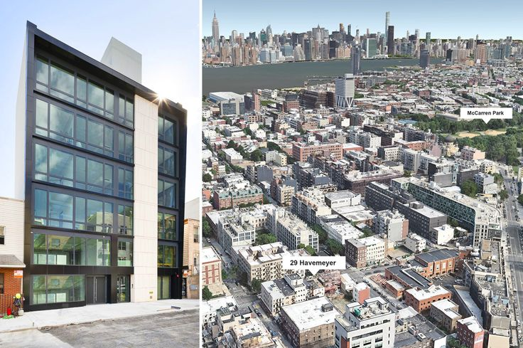 (l-r) Photo of 29 Havemeyer Street via 2729 Havemeyer Realty LLC; Google Earth image showing project's location