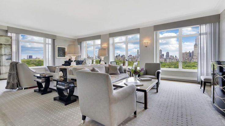 15 Central Park West Living Room