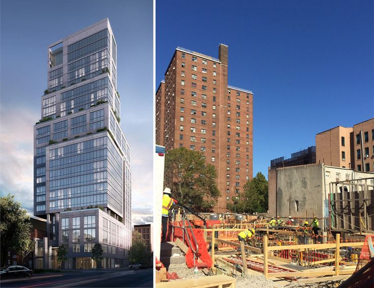 1399 Park Avenue is currently under construction. (Rendering courtesy of Goldstein, Hill & West)