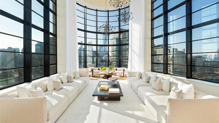10 Sullivan Street's 5,503-Square-Foot Penthouse Is Now Off The Market. Photo via Douglas Elliman