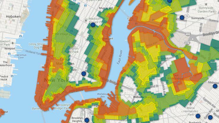NYC Flood Zone Map