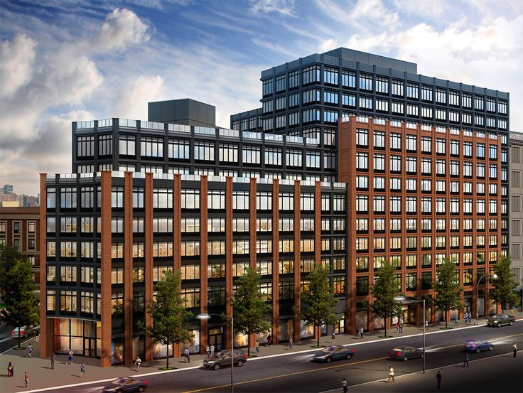 Rendering of 810 Fulton Street; courtesy of RXR Realty