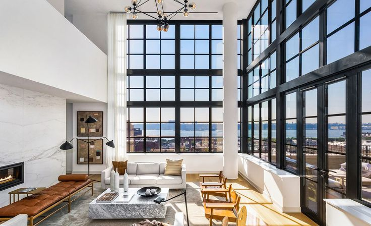 Penthouses offer the best features, light, and views in the building. (550 West 29th Street via Core)