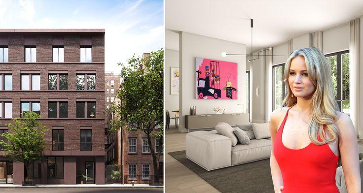 17 Jane Street (Jennifer Lawrence via Wikipedia, 17 Jane exterior credit of Miskoff Equities/David Chipperfield Architects)