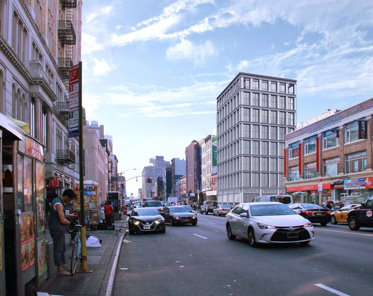 Revised rendering of 419-421 Broadway via Morris Adjmi
