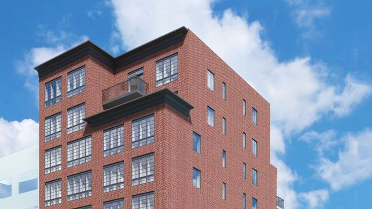 The Decker at 21-10 44th Drive was designed by Zproekt for Impex Builders. All Renderings via Modern Spaces