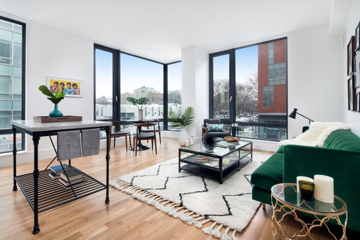 The newly opened rental 531 Myrtle Avenue is offering 2 months free on a 1-year lease. (Image via Greystone Development)