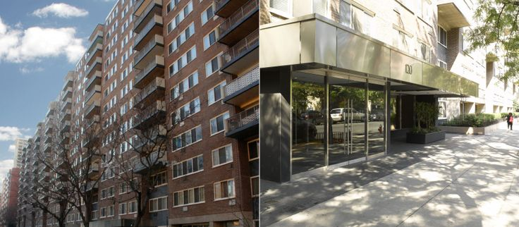 Stonehenge Village, a collection of three rental buildings on the Upper West Side. (Images via Stonehenge NYC)