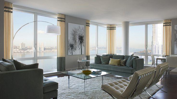 The Aldyn, 60 Riverside Boulevard, Interiors, Living Room