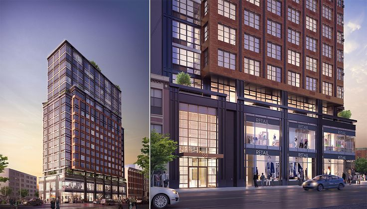 New rendering of 1 Flatbush Avenue. Image Credite MAQE via Hill West