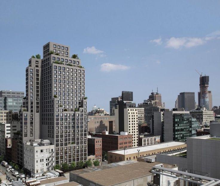 Rendering of 537 Greenwich Street (Cape Advisors)