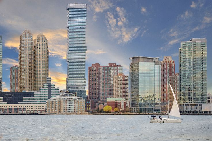 The 713-foot rental skyscraper, Jersey City Urby, announced a February opening (Image via Urby)