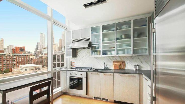 Kitchen, 200 Chambers Street, Condo, Manhattan, NYC