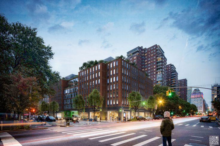 Rendering of 355 Eighth Avenue via MAG Partners