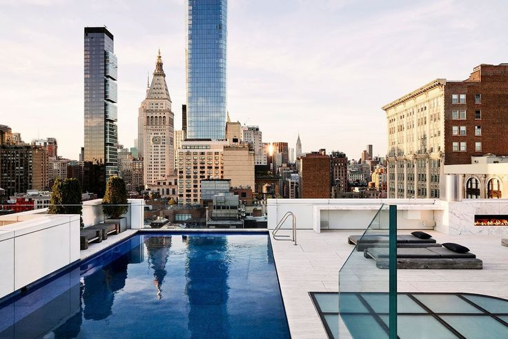 Laps Of Luxury Nyc Listings And Buildings With Private Outdoor Pools Cityrealty