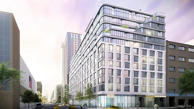 Rendering of 572 Eleventh Avenue (Redering credit: CetraRuddy and the Moinian Group)