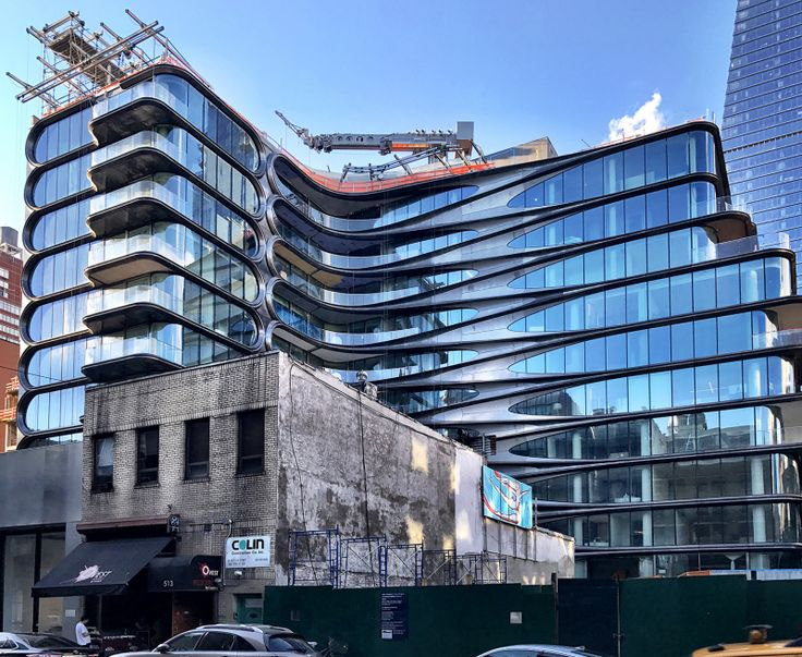 520 West 28th Street from 27th Street, a new 1-floor art gallery will be built in the foreground. (CityRealty)