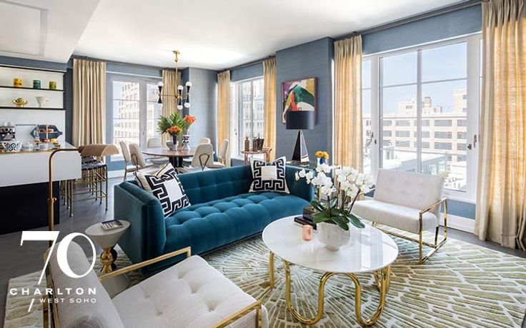 70 Charlton Is A Collection Of 1 4 Bedroom Luxury Residences From 1.7M In  Manhattanu0027s Vibrant West SoHo Neighborhood. These Luxury Homes Are  Complemented By ...