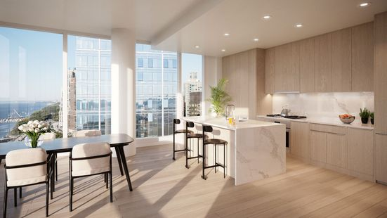 Waterline Square Luxury Rentals 645 West 59th Street Unit 609 Studio Apt For Rent For 3 481 Cityrealty