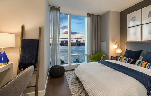 Waterline Square Luxury Rentals 645 West 59th Street Unit 809 1 Bed Apt For Rent For 4 511 Cityrealty