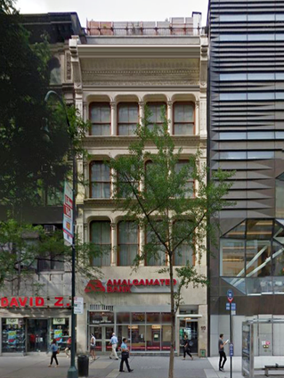 Union Square Lofts and Flats, 10 East 14th Street. Between Fifth Avenue & University  Place ...