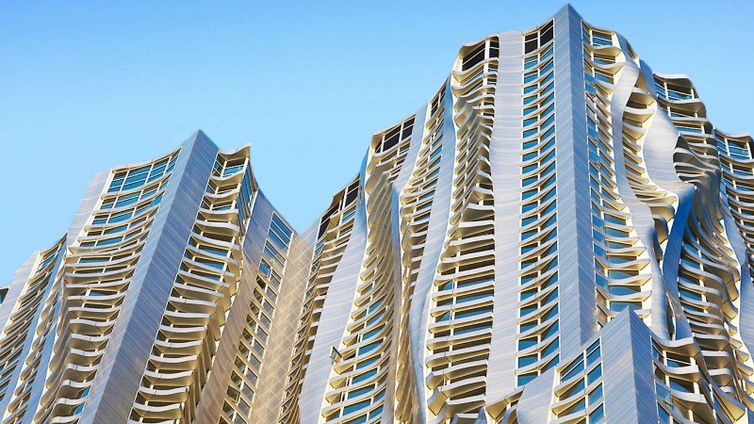 Gehry Building  Spruce Street New York City