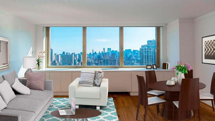 Living Room 86 St the colorado, 201 east 86th street, nyc - rental apartments