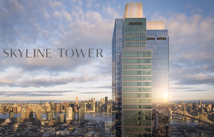 Skyline Tower - View of the Building with Skyline Rendering