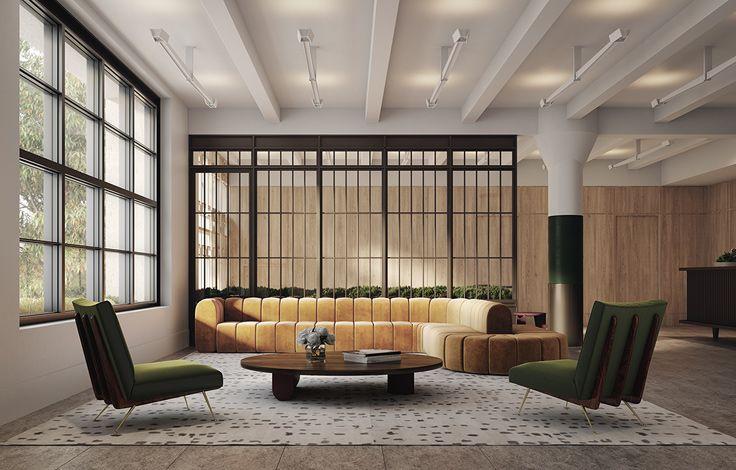 90 Morton - Lobby