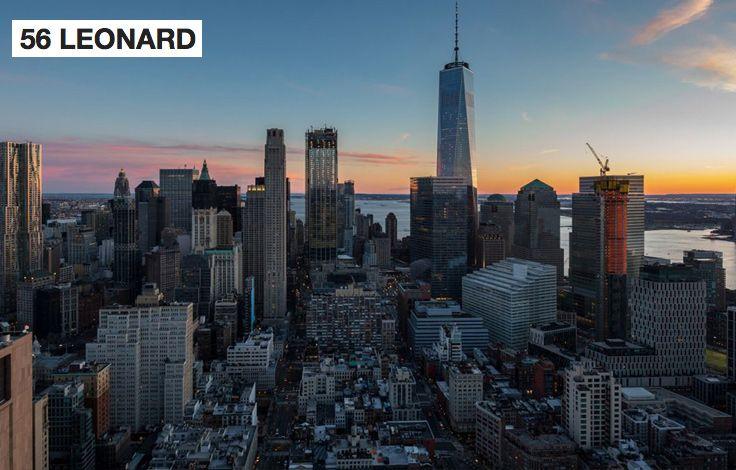 NYC Skyline - 56 Leonard Buiding