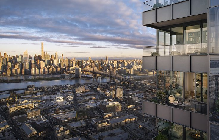 Skyline Tower - View from Unit Terrace Rendering