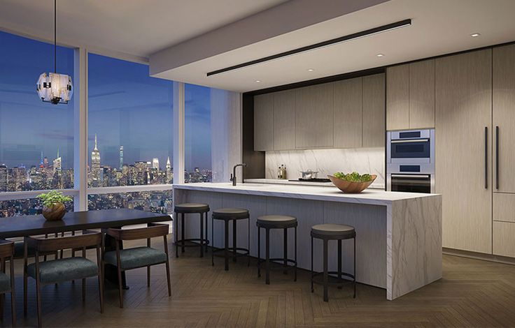 111 Murray Street Interrior - Kitchen Rendering